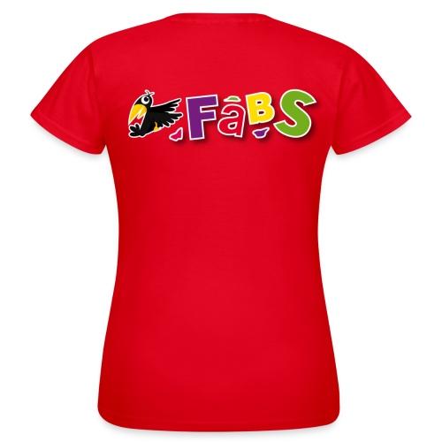 Fabs Frauenshirt 3.0 (Aufdruck hinten) - Frauen T-Shirt
