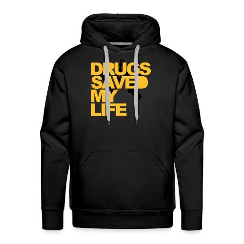 DRUG SAVE ME - Felpa con cappuccio premium da uomo