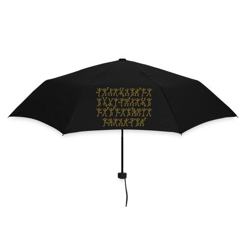 Dancing men - Regenschirm (klein)
