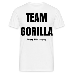 Team Gorilla Mens White Tee - Men's T-Shirt