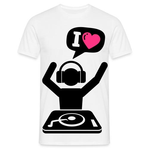 I LOVE... - Koszulka męska