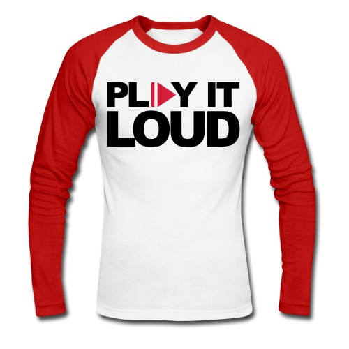 play it loud  - T-shirt baseball manches longues Homme