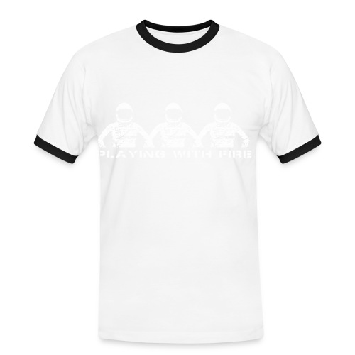 Playing with Fire - Men's Ringer Shirt