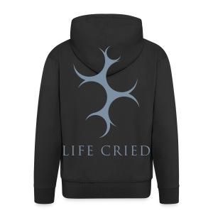 Life Cried - Hoody - logo - Men's Premium Hooded Jacket