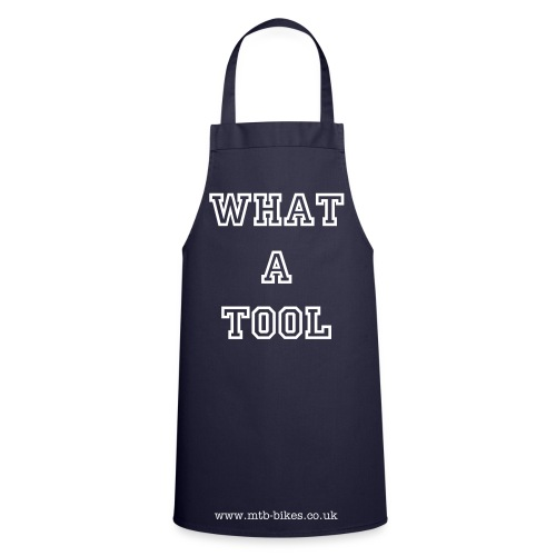 Kiss The Wrench Apron - Cooking Apron
