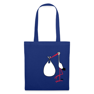 Royal blue Stork (2) - Pregnancy Bags