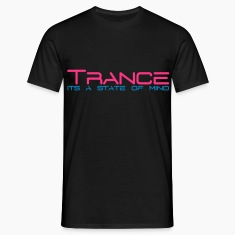 Musta Trance State of Mind T-paidat