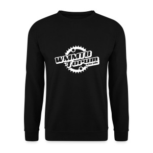 WMMTB Forum 'Logo'  sweatshirt (white print) - Men's Sweatshirt