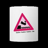 Tassen & Zubehör ~ Tasse ~ Die Bahn geht baden