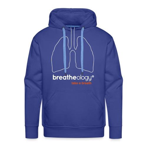 Breatheology Men's Hoodie - Men's Premium Hoodie