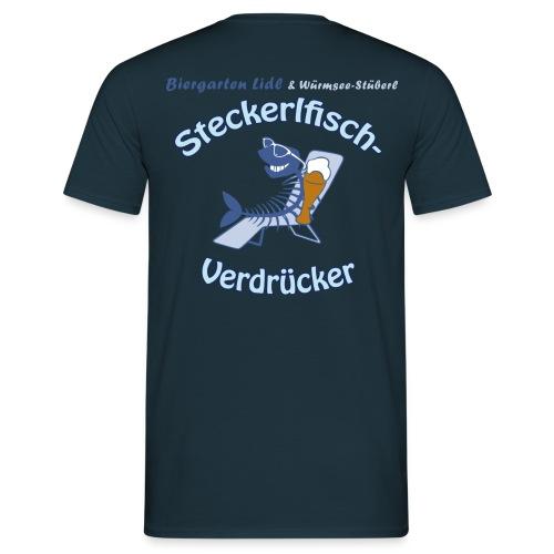 Steckerlfischverdrücker - Männer T-Shirt