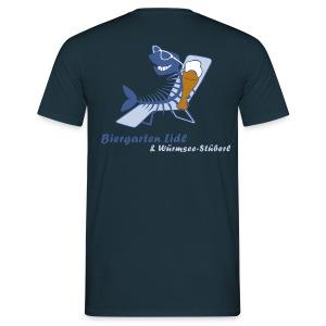 Biergarten Lidl - Männer T-Shirt