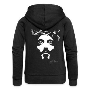 Jesus- My Vision - Frauen Premium Kapuzenjacke
