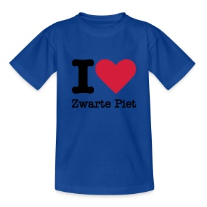 I Love Zwarte Piet - Teenager T-shirt
