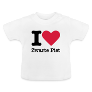 Baby shirts ~ Baby T-shirt ~ I Love Zwarte Piet