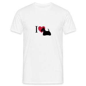 Scotch Terrier - Männer T-Shirt