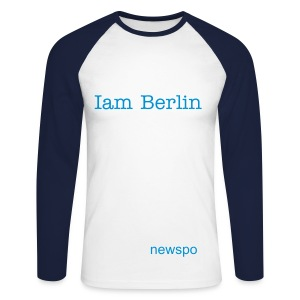 berlin100 - Men's Long Sleeve Baseball T-Shirt