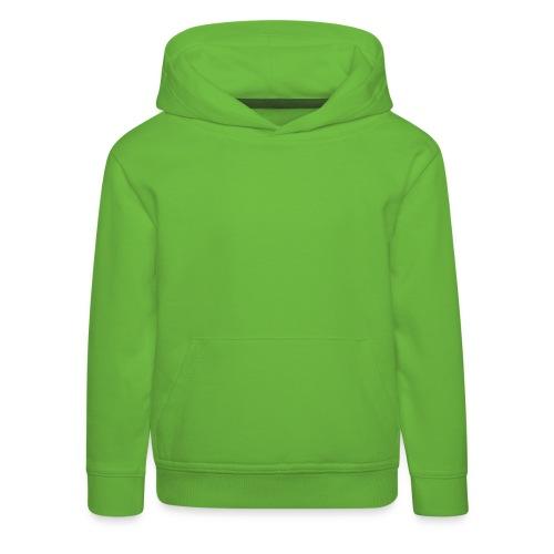 Kinder Kapuzenpullover gruen - Kinder Premium Hoodie