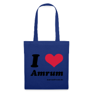 Taschen & Rucksäcke ~ Stoffbeutel ~ I Love Amrum