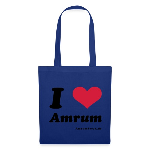I Love Amrum - Stoffbeutel