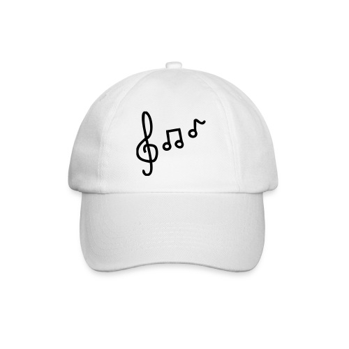 Baseball Cap Wit/Zwart - Baseball Cap