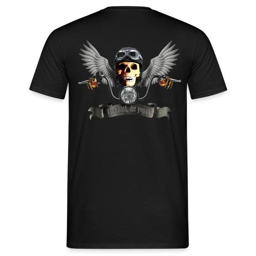 T-Shirt Biker - Männer T-Shirt