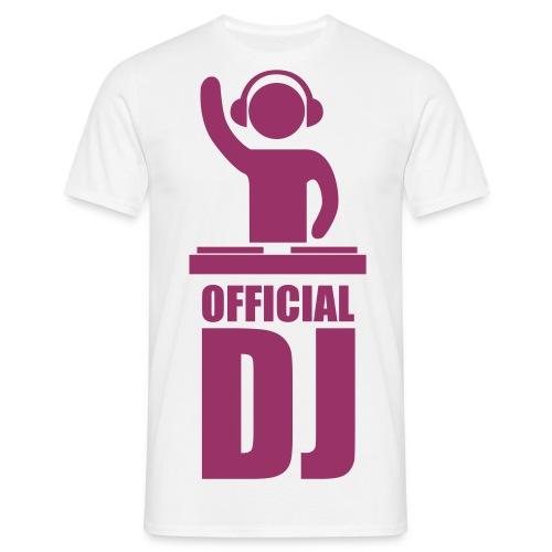 Official Dj T-shirt - Men's T-Shirt