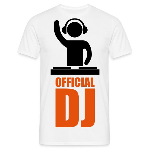 Official DJ T-Shirt - Men's T-Shirt