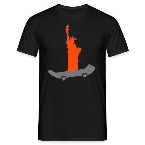 logo liberty skateshop - T-shirt Homme