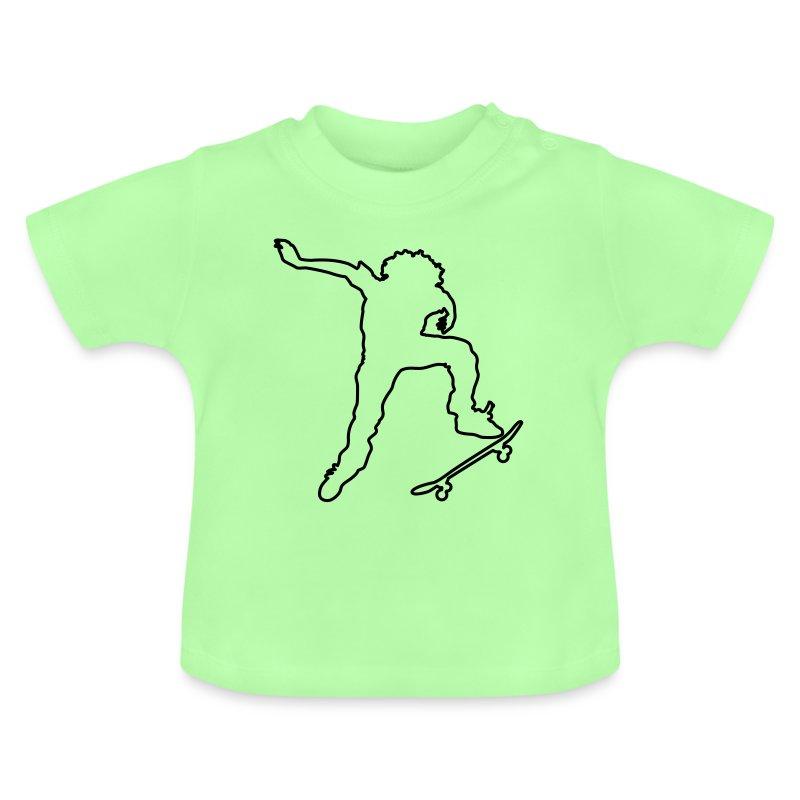 skateroutline - Baby T-Shirt