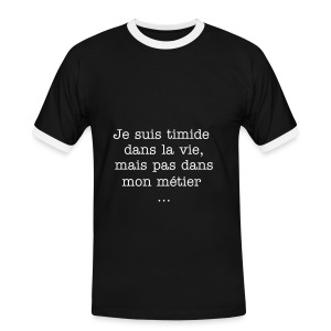 simple  - T-shirt contrasté Homme