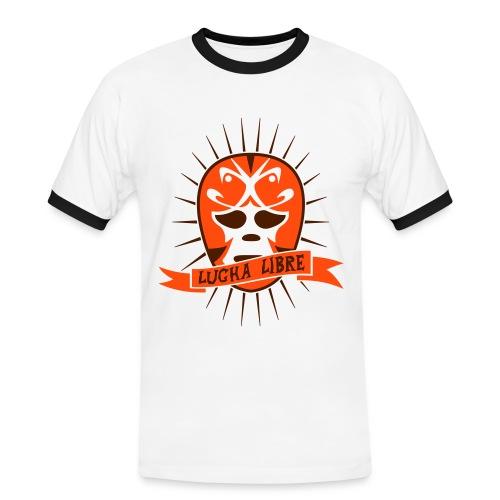 Lucha Libre - Männer Kontrast-T-Shirt