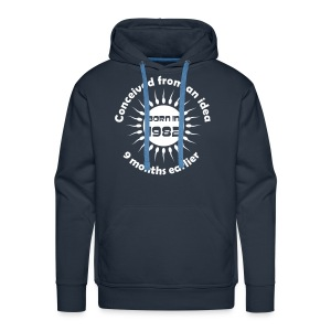 Born in 1982 - Conceived earlier - Men's Premium Hoodie