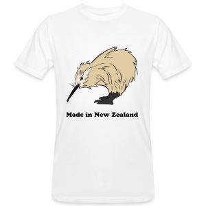 Made in New Zealand - T-shirt bio Homme