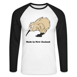 Made in New Zealand - T-shirt baseball manches longues Homme