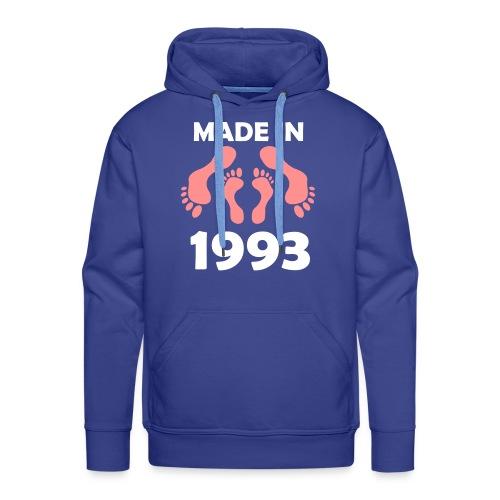 Made in 1993 - Men's Premium Hoodie