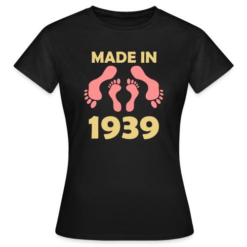 Made in 1939 - Women's T-Shirt