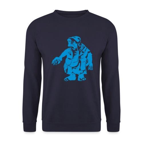 Männer Pullover Gnom blue - Männer Pullover