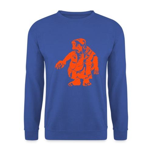 Männer Pullover Gnom orange - Männer Pullover