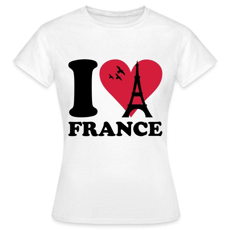 I Love France T Shirt Spreadshirt