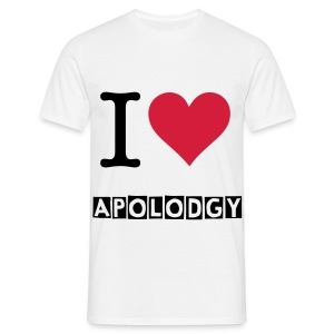 tee-shirt I love ApOlOdGy - T-shirt Homme