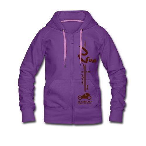 FUN-BIKE - Hoodie - Veste à capuche Premium Femme