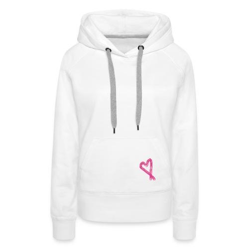Heart hoody - Women's Premium Hoodie