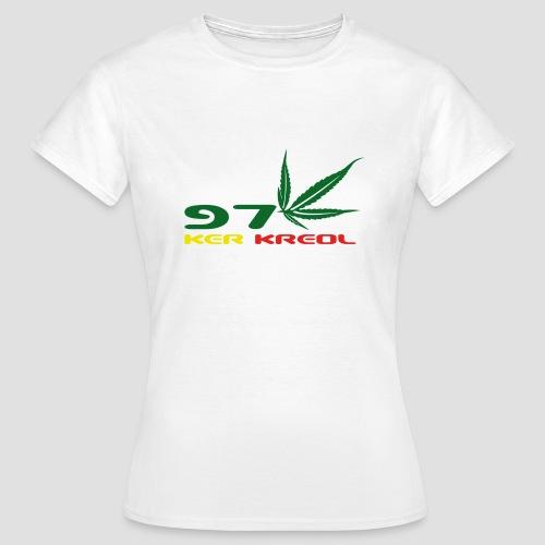 T-shirt Classique Femme 974 ker kreol Zam zam Rastafari - T-shirt Femme