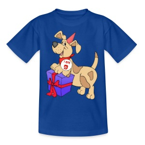 I am 9 doggy - Teenage T-shirt