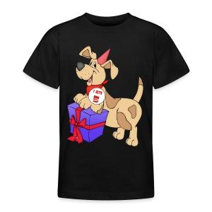 I am 5 doggy - Teenage T-shirt