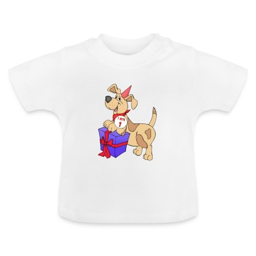 I am 1 doggy - Baby T-Shirt