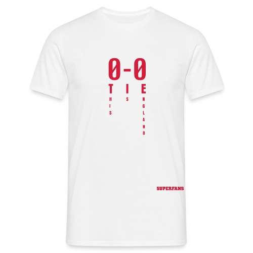 0-0 This is England - Men's T-Shirt