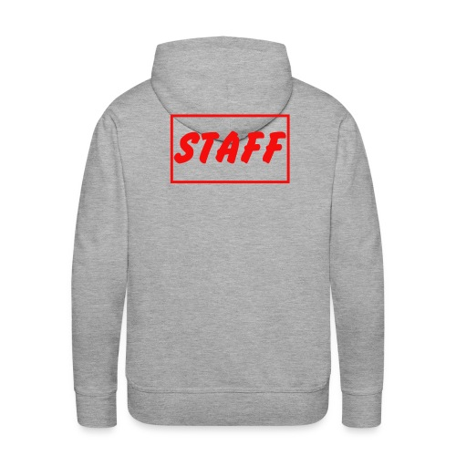 Staff - Sweat-shirt à capuche Premium pour hommes