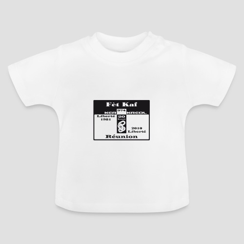 T-shirt Bébé Fet Kaf - 20 désamb - T-shirt Bébé
